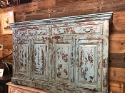 Teal 2 Drawer 4 Doors Sideboard
