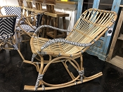 Cannes Woven Rocking Chair