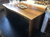 Black Walnut Live Edge Coffee Table or Bench Seat
