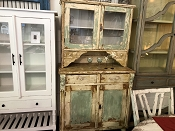 Hungarian Farmhouse Kitchen Hutch