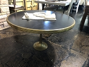 Imported French Solid Brass Bistro Table