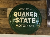 New Old Stock Quaker Stake Advertising Button