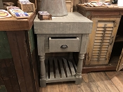 Rustic Mango Wood Kitchen Island