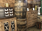 Heaven Hill Distillery Whiskey Barrels