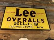 Lee Overalls Union-Made Advertisement Sign
