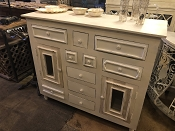 White Mini Drawers Chest/Cabinet