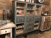Tracey's Favorite Teal Hutch