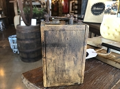 Antique FORD Model T Coil Box- Stamped!