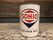 SOHIO  Standard Oil of Ohio Motor Oil Can