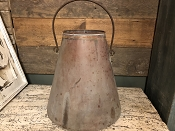 Solid Copper Pail