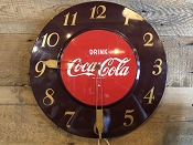 Coca Cola DRINK Advertising Clock