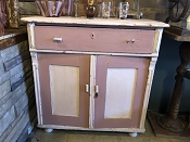 Farmhouse Low Pink Hutch