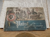 Pabst Brewing Co. Milwaukee Beer Souvenir Book 1892