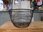 Iron Oyster Basket