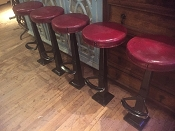 1912 Duro Chrome Co. Bar Stools