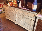 Reclaimed Cherry Wood Buffet