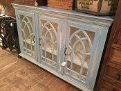 Coastal 3 Door Cathedral Sideboard