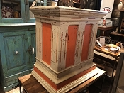 Reclaimed Mini Kitchen Island