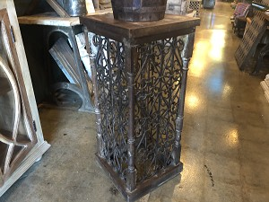 Cast Iron Tall Plant Stand or End Table